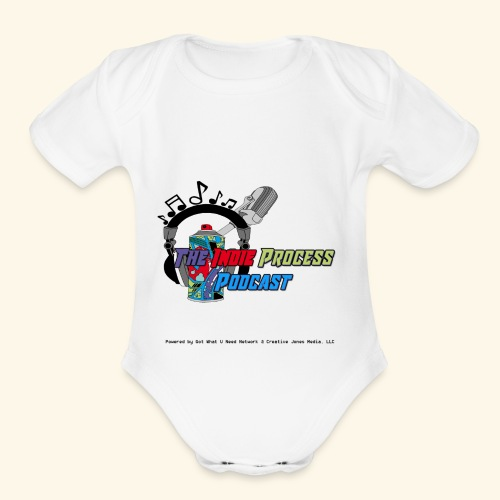 The Indie Process Podcast Hoodies - Organic Short Sleeve Baby Bodysuit