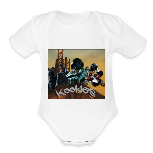 cuckmcgee - Organic Short Sleeve Baby Bodysuit