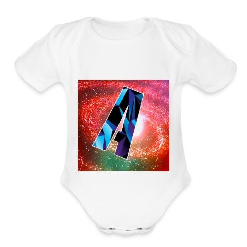 Logo Merch - Organic Short Sleeve Baby Bodysuit