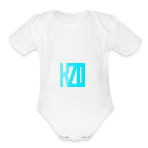 fadedkzd - Organic Short Sleeve Baby Bodysuit
