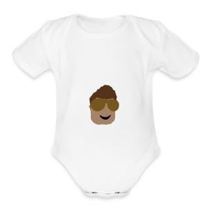 MERCH LOGO - Short Sleeve Baby Bodysuit