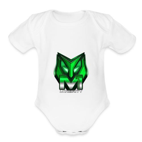 M1nority - Organic Short Sleeve Baby Bodysuit