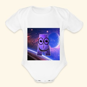 Always have a smile - Short Sleeve Baby Bodysuit