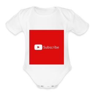 image - Short Sleeve Baby Bodysuit