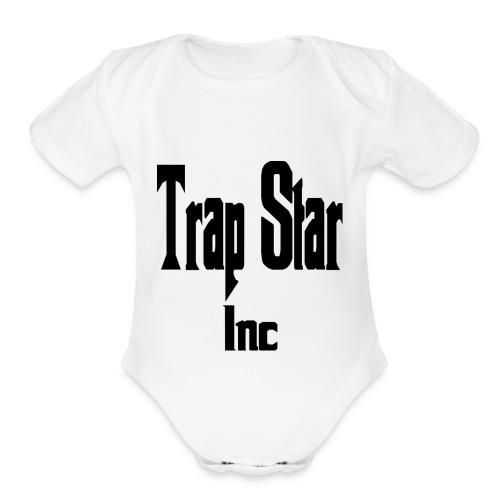 TrapStar Inc. - Organic Short Sleeve Baby Bodysuit