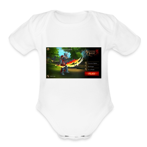 Cover - Organic Short Sleeve Baby Bodysuit