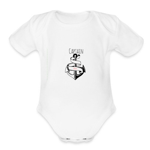 Captain MMM Merch - Organic Short Sleeve Baby Bodysuit