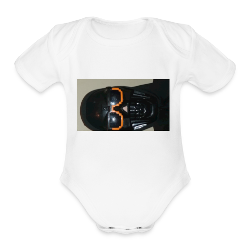 reaper the exectioner - Organic Short Sleeve Baby Bodysuit