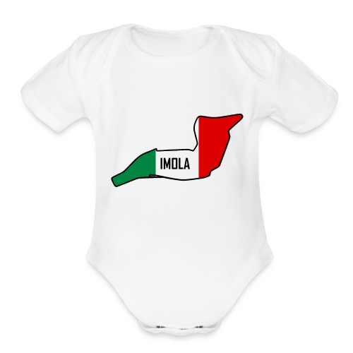 Imola Circuit - Organic Short Sleeve Baby Bodysuit
