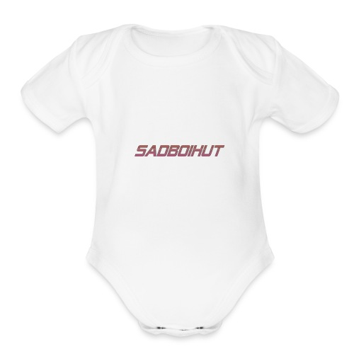 SadboiHut Updated - Organic Short Sleeve Baby Bodysuit