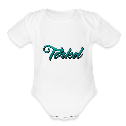 Torkel For Life - Organic Short Sleeve Baby Bodysuit