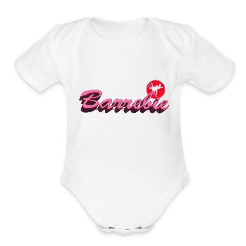 Barrebie by SBR - Organic Short Sleeve Baby Bodysuit