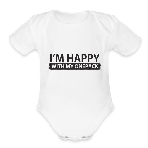 ONEPACK - Organic Short Sleeve Baby Bodysuit