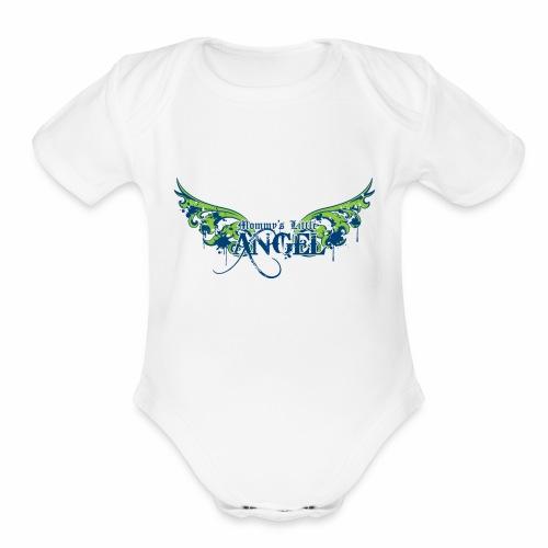 Little Angel - Organic Short Sleeve Baby Bodysuit