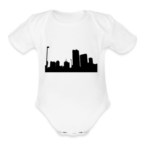 Urban City - Organic Short Sleeve Baby Bodysuit