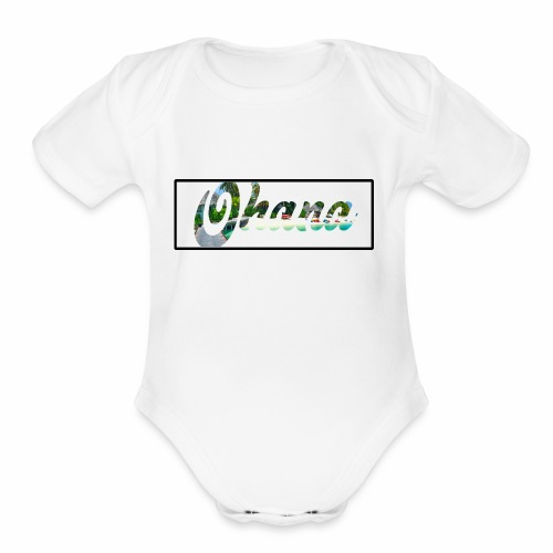 Ohana Style - Organic Short Sleeve Baby Bodysuit