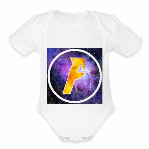 ForcePlaysEST Merch - Organic Short Sleeve Baby Bodysuit