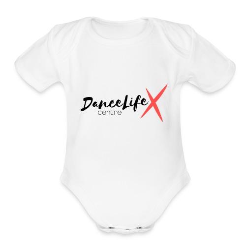 DL-Logo-Master - Organic Short Sleeve Baby Bodysuit