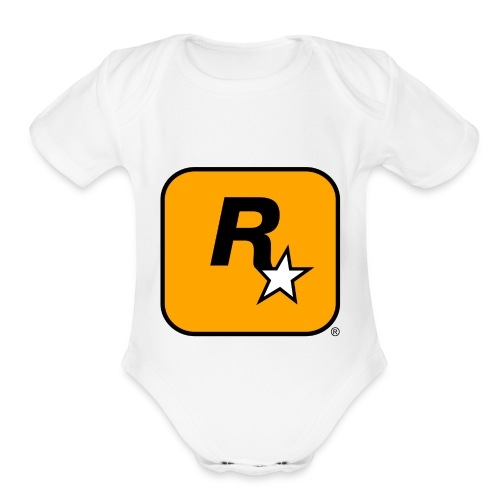Rockstar Games Theme - Organic Short Sleeve Baby Bodysuit
