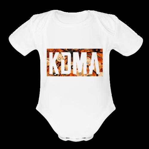 KDMA Color - Organic Short Sleeve Baby Bodysuit