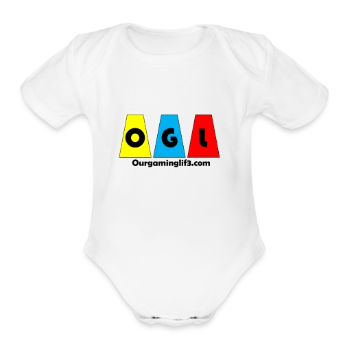 OGL big - Organic Short Sleeve Baby Bodysuit