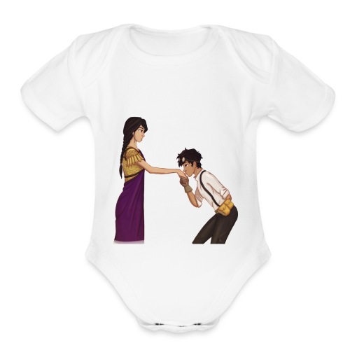 85962E7D 6996 4256 88AD 38A3DA0365AA - Organic Short Sleeve Baby Bodysuit