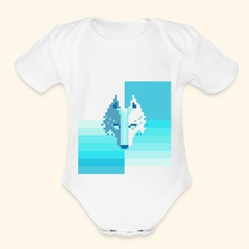 Zechila - Organic Short Sleeve Baby Bodysuit