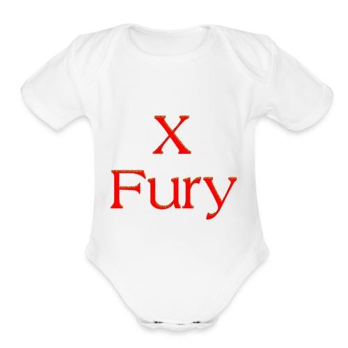 X Fury - Organic Short Sleeve Baby Bodysuit