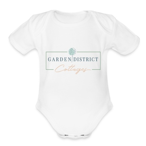 Garden District Cottages Pensacola - Organic Short Sleeve Baby Bodysuit