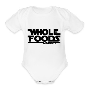WHOLE_FOODS_STAR_WARS - Short Sleeve Baby Bodysuit