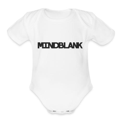 Mind Blank Sports - Organic Short Sleeve Baby Bodysuit