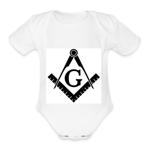 mason - Organic Short Sleeve Baby Bodysuit
