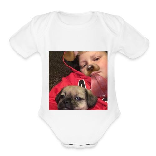 IMG 1769 - Organic Short Sleeve Baby Bodysuit