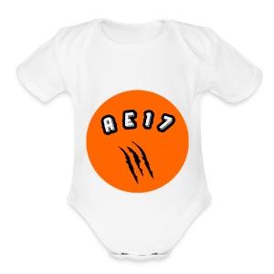 "AE 17 ""La Panterita"" Gear - Short Sleeve Baby Bodysuit"