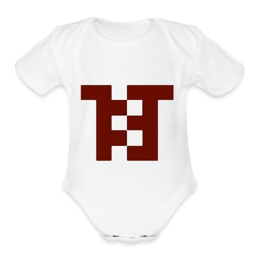 MIGMALD10 Logo - Organic Short Sleeve Baby Bodysuit