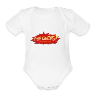 FiveGeeks.Blog - Short Sleeve Baby Bodysuit