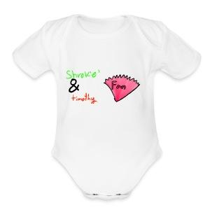 unknown - Short Sleeve Baby Bodysuit