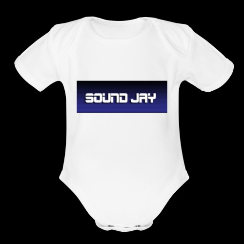 sound jay merch - Organic Short Sleeve Baby Bodysuit