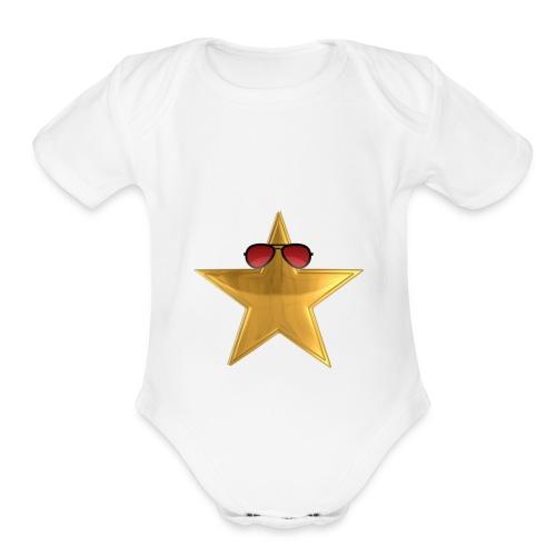 3E33FD5C FE69 4243 856F E1BC2D194AAB - Organic Short Sleeve Baby Bodysuit