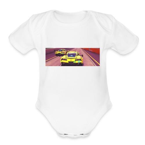 IMG sr4cf2 - Organic Short Sleeve Baby Bodysuit