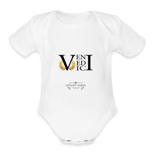 Veni Vedi Vici Long Sleeve T-Shirt - Short Sleeve Baby Bodysuit