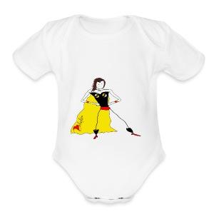 Super Me - Short Sleeve Baby Bodysuit