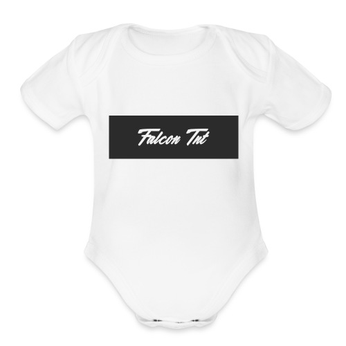 Falcon TNT Official Merch - Organic Short Sleeve Baby Bodysuit