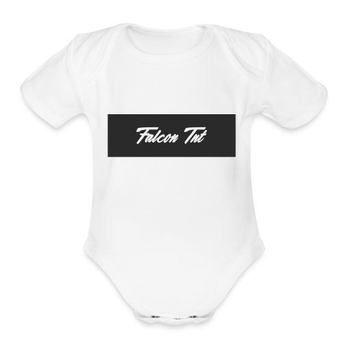 Falcon TNT Official Merch - Organic Short Sleeve Baby Bodysuit