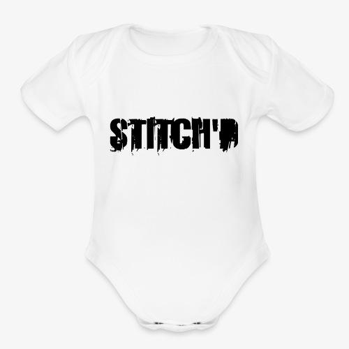 Logo 2 - Organic Short Sleeve Baby Bodysuit
