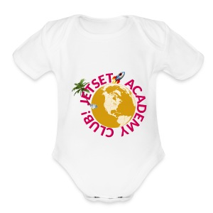 JAC Swag Pink Brand - Short Sleeve Baby Bodysuit