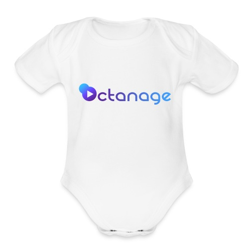 Octanage - Organic Short Sleeve Baby Bodysuit