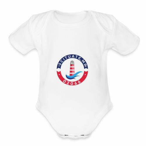 Scituate MA 02066 - Organic Short Sleeve Baby Bodysuit