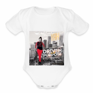 Driven By Purpose - Short Sleeve Baby Bodysuit