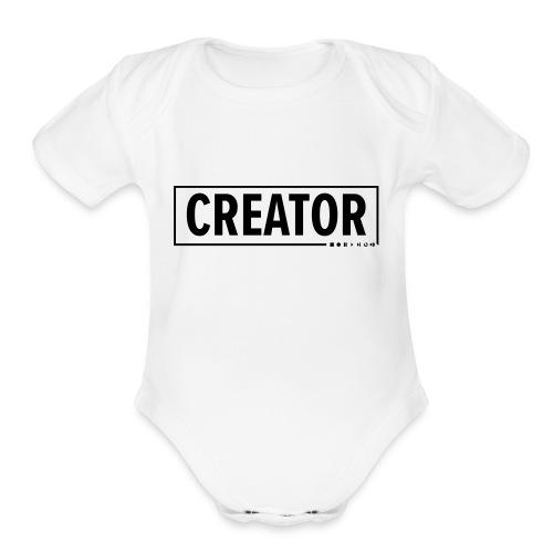 Creator - Organic Short Sleeve Baby Bodysuit